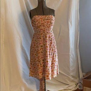 Nanette Lepore  strapless dress.